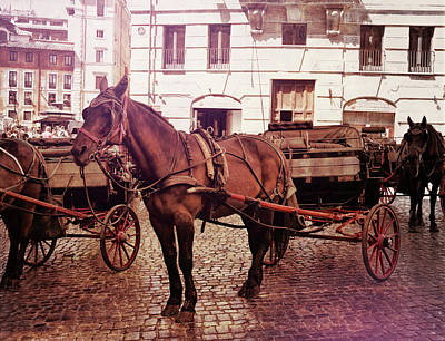 Photograph - Pantheon Carriage Rides by JAMART Photography