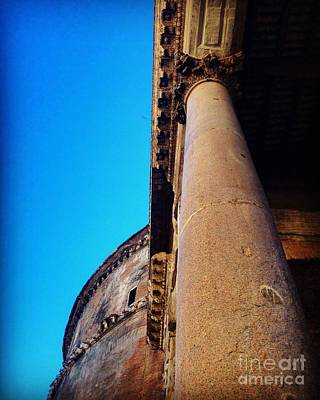 Photograph - Pantheon Column by Angela Rath
