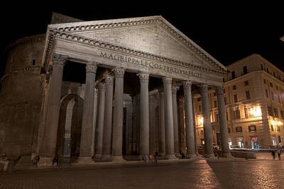 Photograph - Pantheon by Fabrizio Ruggeri