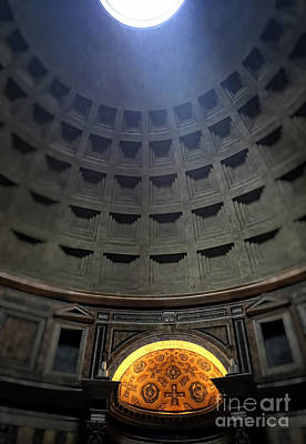 Pantheon Photograph - Pantheon by HD Connelly