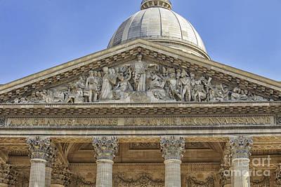 Photograph - Pantheon In Paris by Patricia Hofmeester