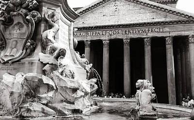 Digital Art - Pantheon by Julian Perry