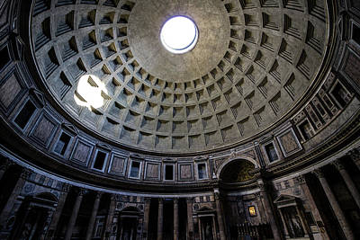 Temple Photograph - Pantheon by Nicklas Gustafsson