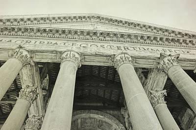 Photograph - Pantheon Pillars by JAMART Photography