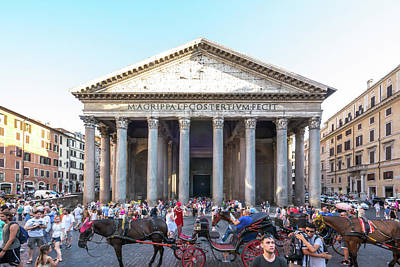 Photograph - Pantheon by Robert McKay Jones