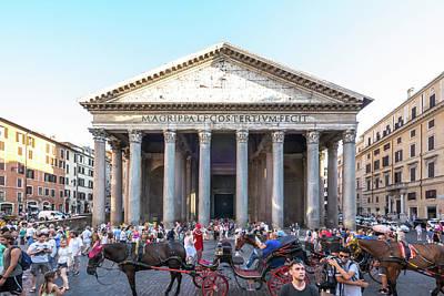 Photograph - Pantheon by Robert McKay Jones