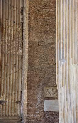Photograph - Pantheon Texture by JAMART Photography