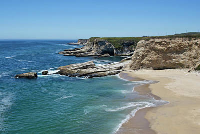 Panther Photograph - Panther Beach - Santa Cruz County by Brendan Reals