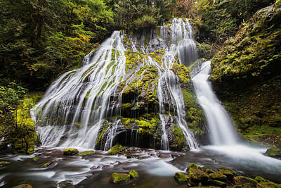 Photograph - Panther Creek Falls by Angie Vogel