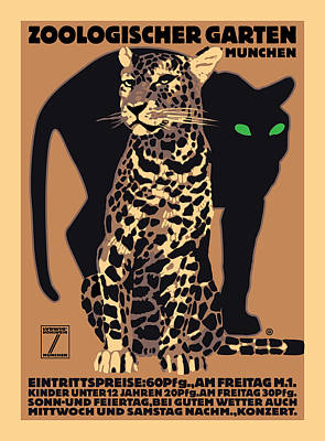 Digital Art - Panther by Gary Grayson