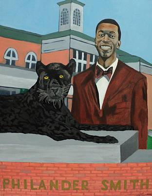 Painting - Panther Pride by Angelo Thomas