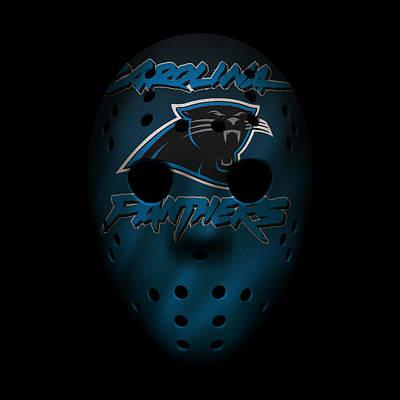 Photograph - Panthers War Mask 2 by Joe Hamilton