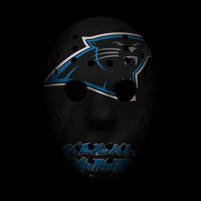 Photograph - Panthers War Mask by Joe Hamilton