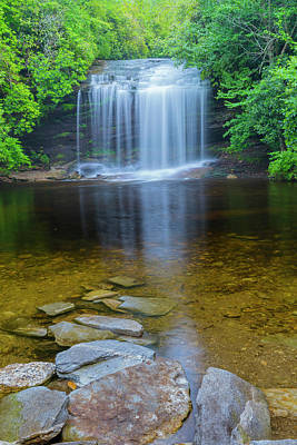 Photograph - Panthertown Valley School House Falls by Ranjay Mitra