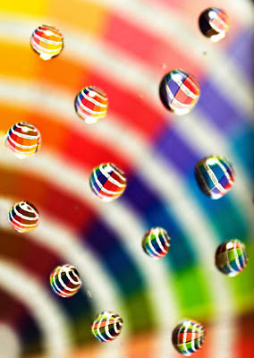 Photograph - Pantone Bubbles by Shawna Rowe