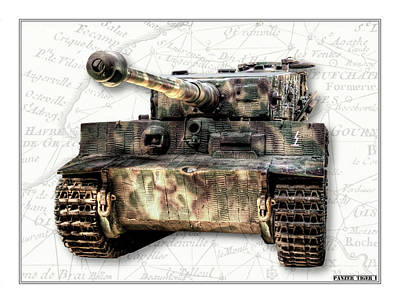 Photograph - Panzer Tiger I Front by Weston Westmoreland