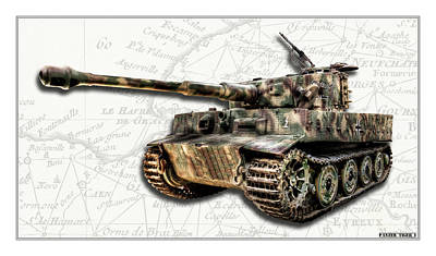 Photograph - Panzer Tiger by Weston Westmoreland