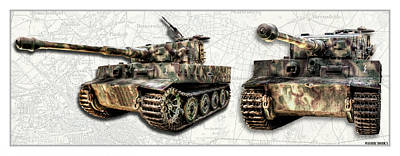Photograph - Panzer Tiger I by Weston Westmoreland