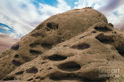 Photograph - Papago Buttes by Anne Rodkin