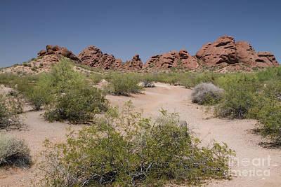 Photograph - Papago Buttes Arizona by Kevin McCarthy