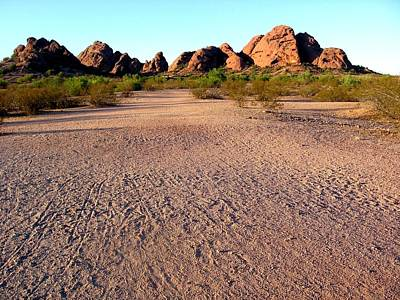 Photograph - Papago Park 3 by Michelle Dallocchio