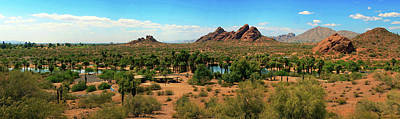 Photograph - Papago Park 5304-052514-2-pano by Tam Ryan