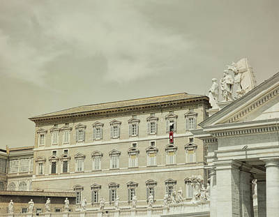 Photograph - Papal Blessings by JAMART Photography