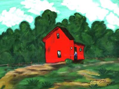Belinda Landtroop Royalty-Free and Rights-Managed Images - Papas Barn by Belinda Landtroop