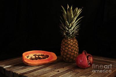 Art By Jake Photograph - Papaya And Companions by Joe Jake Pratt