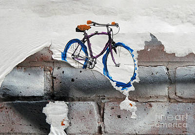 Photograph - Paper Bicycle by Ethna Gillespie