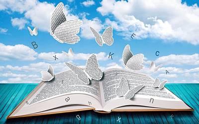 Photograph - Paper Butterflies by Sheila Mcdonald