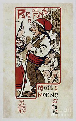 Cornet Painting - Paper De Fumar Moli De Mornau by MotionAge Designs