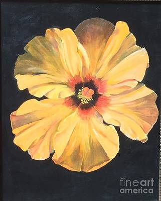 Painting - Paper Flower by Elaine Callahan