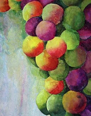 Paper Grapes Art Print