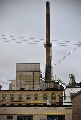 Photograph - Paper Mill 2 by Tim Nyberg
