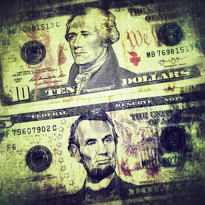 Paper. Money Art Print