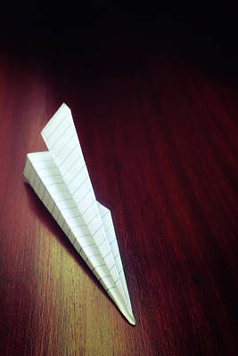 Photograph - Paper Plane by Carlos Caetano
