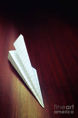 Candid Photograph - Paper Plane Toy by Carlos Caetano