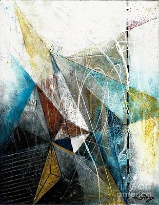 Abstracto Painting - Paper Planes - Original Format by Laura Gomez