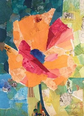 Painting - Paper Poppy by Barbara Tibbets