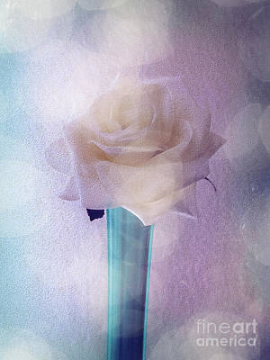 Photograph - Paper Rose by Leigh Kemp