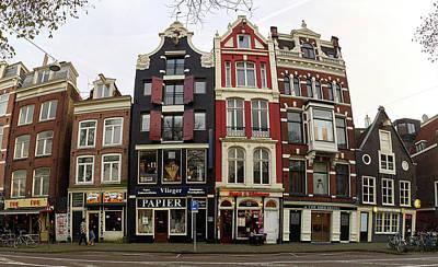 Photograph - Paper Steaks And Bird Hotel Panorama. Amsterdam by Jouko Lehto