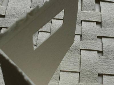 Paper Structure-2 Art Print