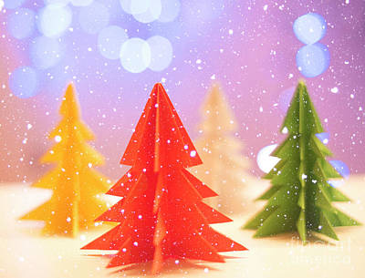 Photograph - Paper Trees by Juli Scalzi