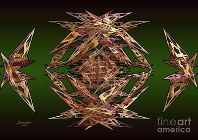 Digital Art - Paper Wings by Melissa Messick
