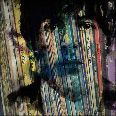 Paul Mccartney Digital Art - Paperback Writer by Paul Lovering