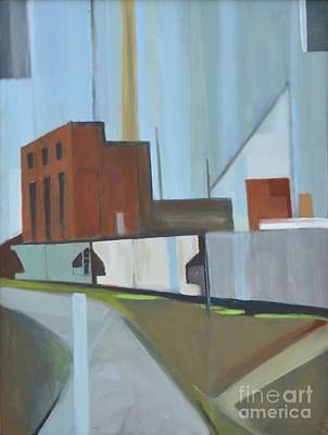 Painting - Paperboard Factory Bogota Nj by Ron Erickson