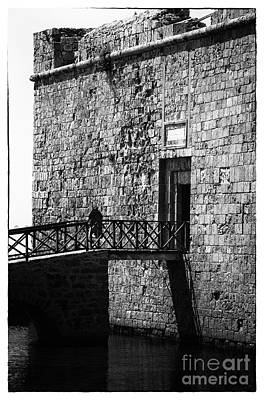 Cypriotic Photograph - Paphos Castle by John Rizzuto