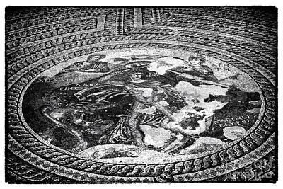 Paphos Mosaic Art Print by John Rizzuto