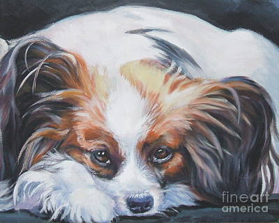 Painting - Papillon by Lee Ann Shepard
